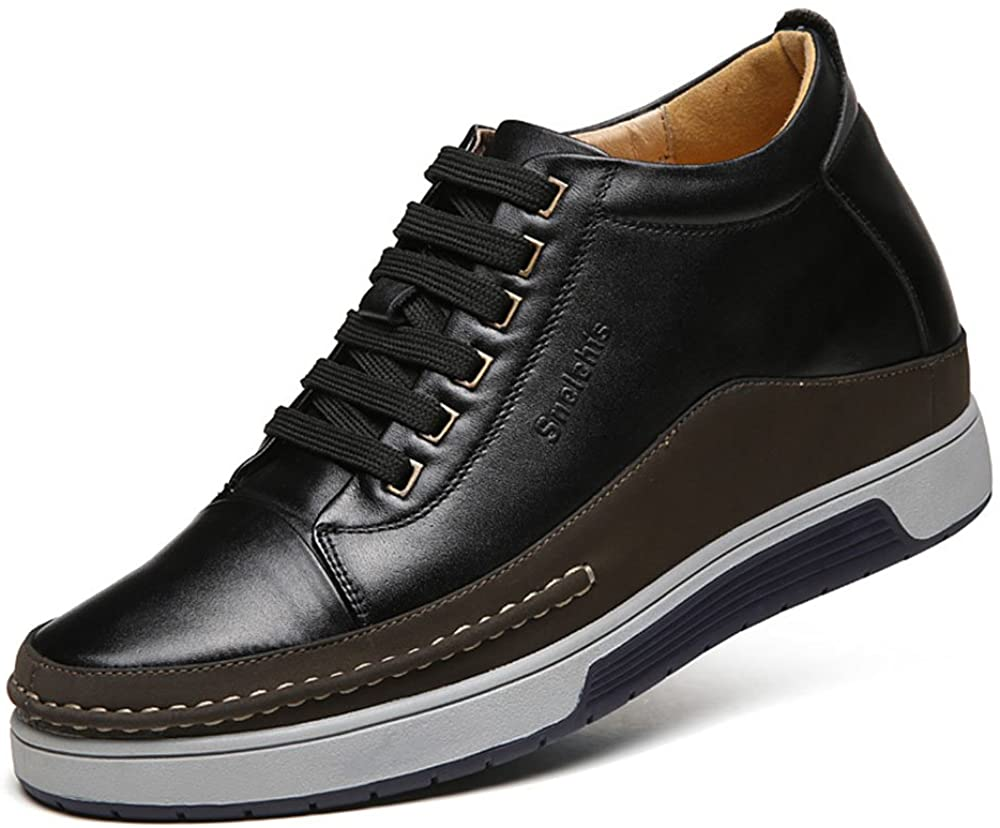 Men's elevator casual shoes